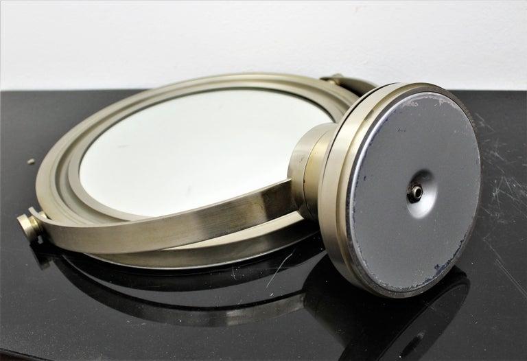 Sergio Mazza for Artemide 1960s Modern Design Table Mirror For Sale 4