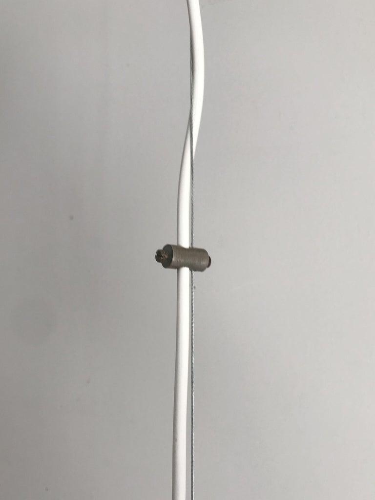 Sergio Mazza for Artemide Italian Glass Pendant Lamp, 1960s For Sale 1