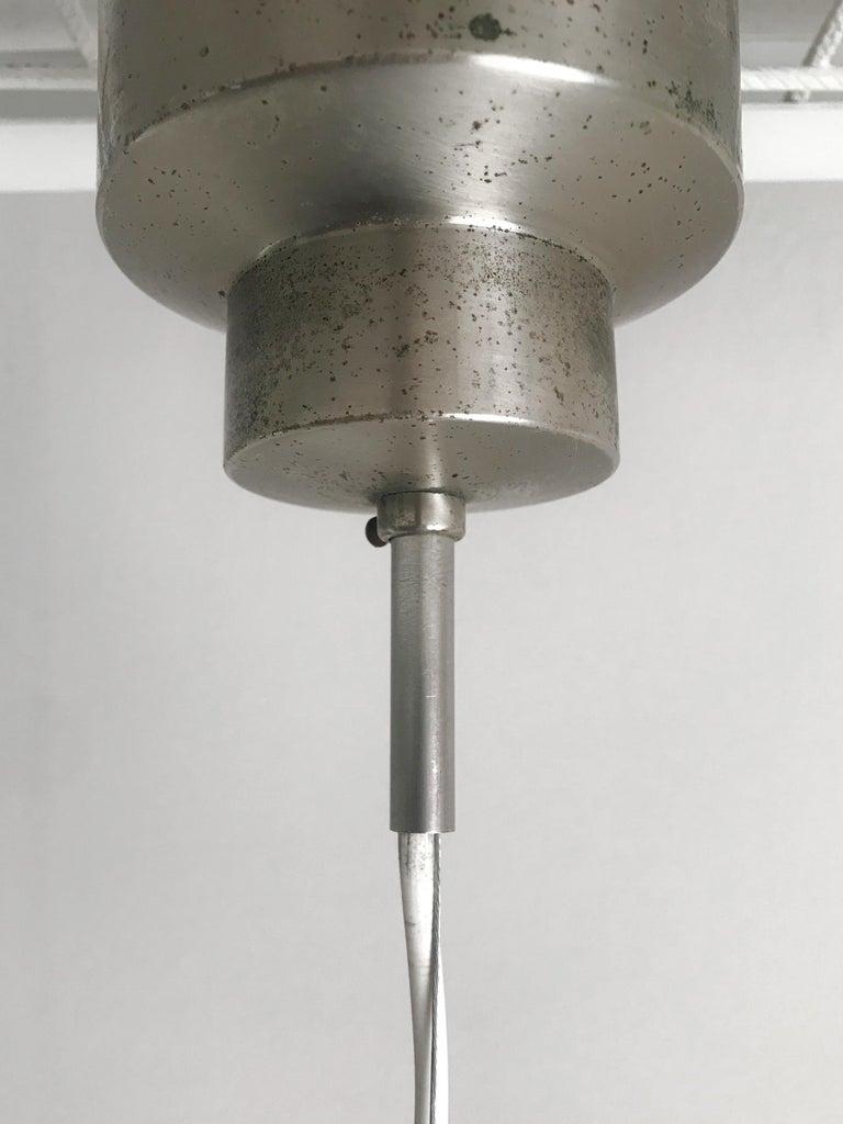 Sergio Mazza for Artemide Italian Glass Pendant Lamp, 1960s For Sale 2
