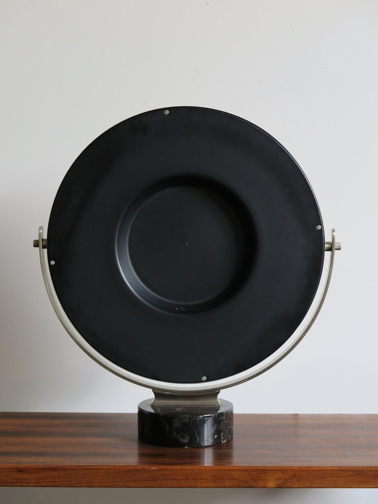 Italian Sergio Mazza for Artemide Table Mirror Model Narciso, 1960s For Sale