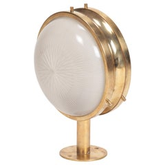 Sergio Mazza Gamma Brass Wall Lamp, 1960s