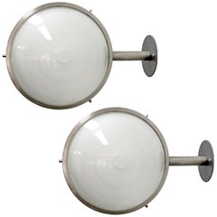 "Sergio Mazza ""Gamma"" Wall Lights, 1960s"