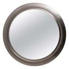 """Sergio Mazza Mid-Century Modern Italian Round Mirror """"Narciso"""" for Artemide, 60s"""