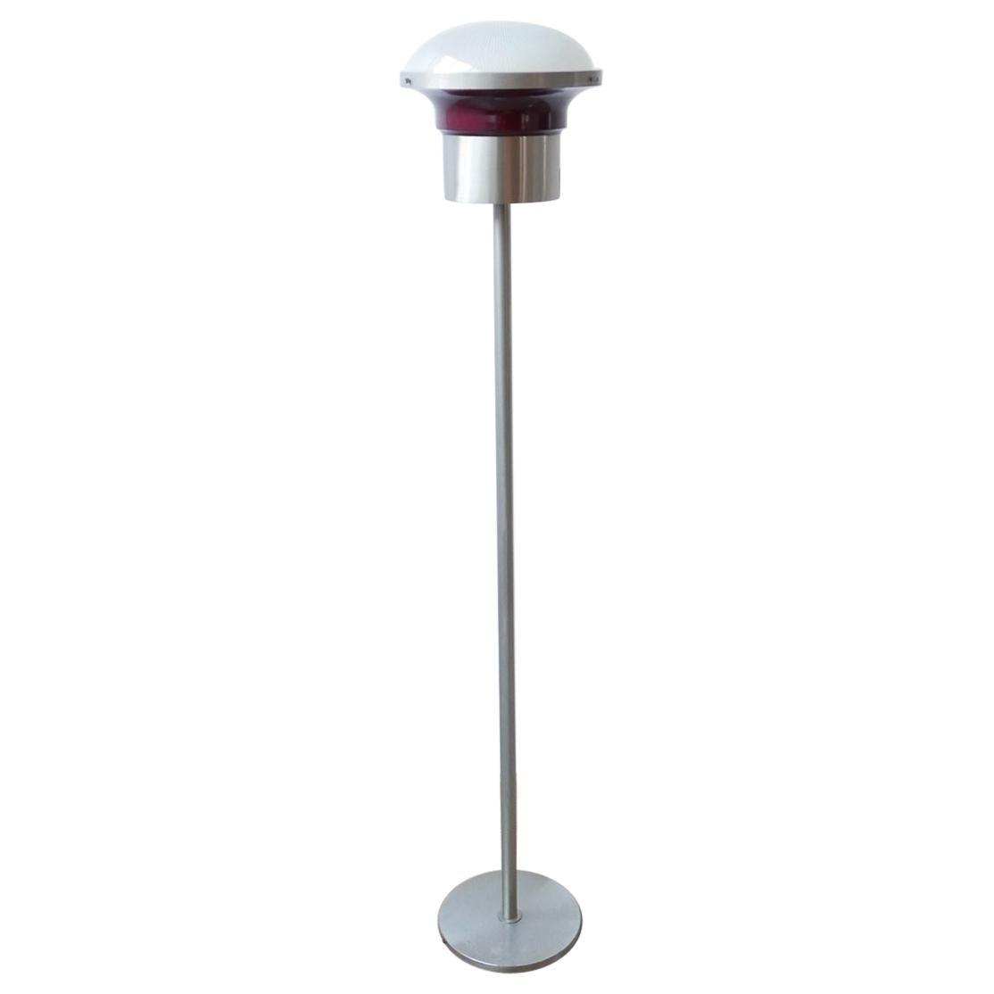 Sergio Mazza 'Tau' Midcentury Italian Floor Lamp