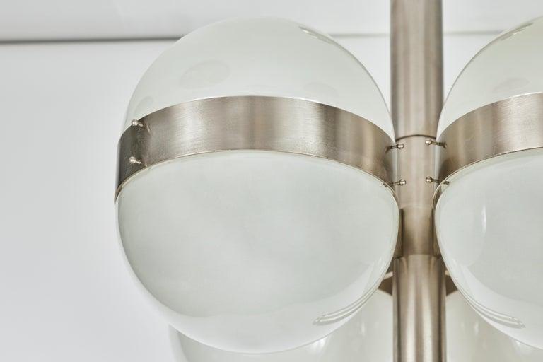 Sergio Mazza 'Tetraclio' Chandelier for Artemide, 1960s For Sale 2