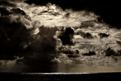 Tropical Storm II, Sunset Atlantic Ocean, Brazil