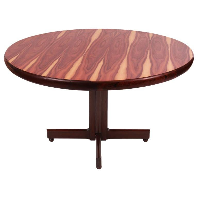 Sergio Rodrigues 1950s Brazilian Rosewood Dining Table