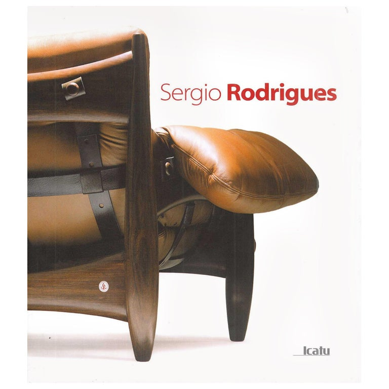 """""""Sergio Rodrigues"""", Book For Sale"""
