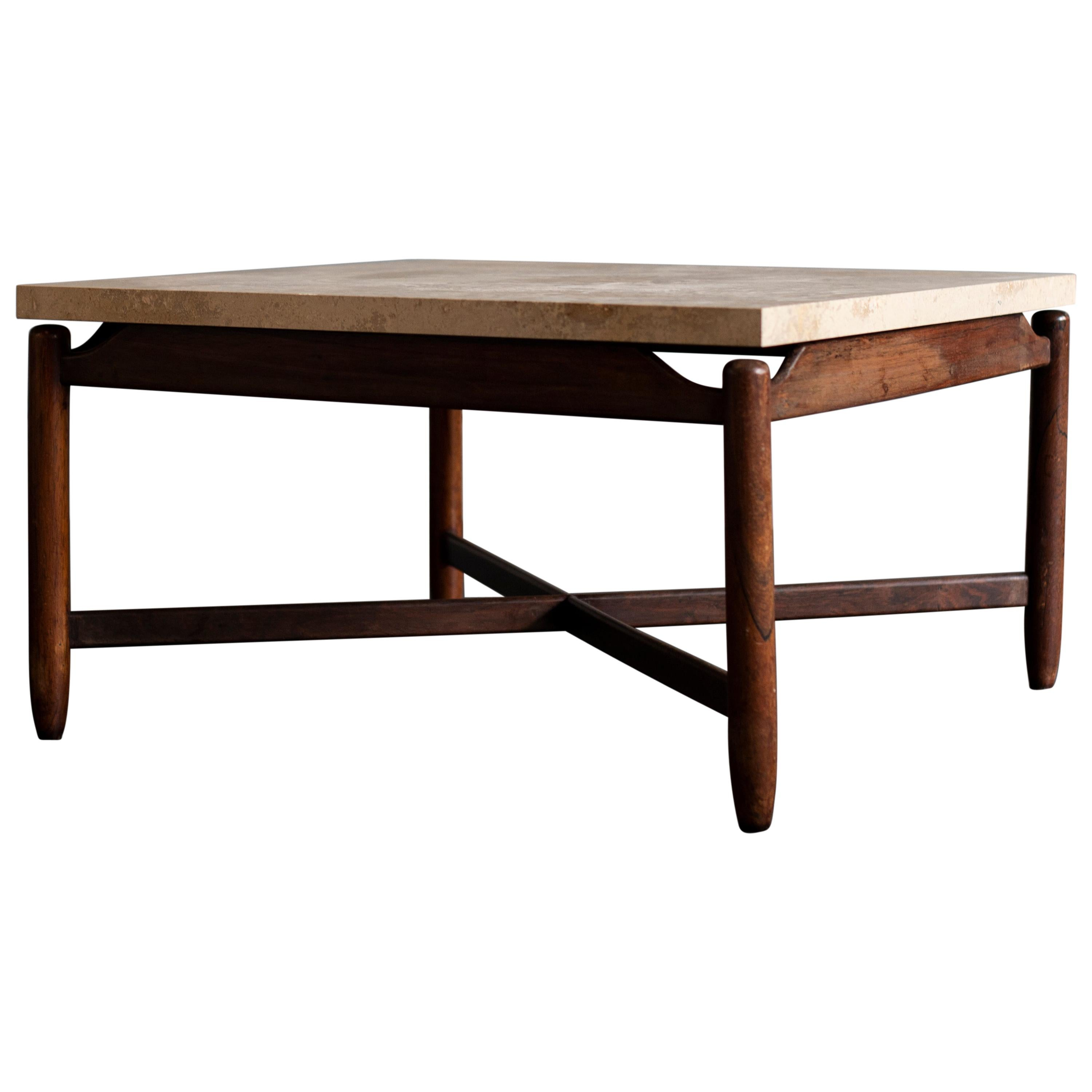 Sergio Rodrigues Coffee Table, 1950s, Brazil