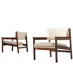 Sergio Rodrigues 'Drummond' Armchairs