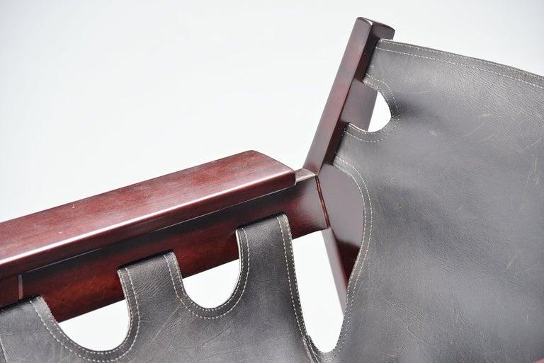 Sergio Rodrigues Kilin Chairs Pair Oca, Brazil, 1973 For Sale 1