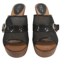 Sergio Rossi Black Leather shoes