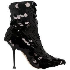 Sergio Rossi Woman Ankle boots Black EU 37.5