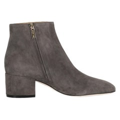 Sergio Rossi Woman Ankle boots Grey EU 37