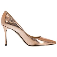 Sergio Rossi Woman Pumps Bronze EU 37.5
