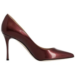 Sergio Rossi Woman Pumps Burgundy EU 38.5