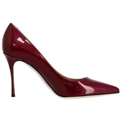 Sergio Rossi Woman Pumps Burgundy EU 39.5