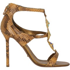 Sergio Rossi Woman Sandals Brown EU 37
