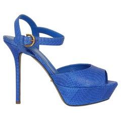 Sergio Rossi  Women   Sandals  Navy Leather EU 38.5