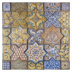 Seria A 25-Piece Tiles Panel by Studio Le Nid