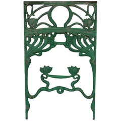 Series 4 Window Railing Art Nouveau Cast, circa 1900
