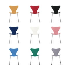 Series 7 Chair by Arne Jacobsen, Fritz Hansen, 1955 in Custom Colors!