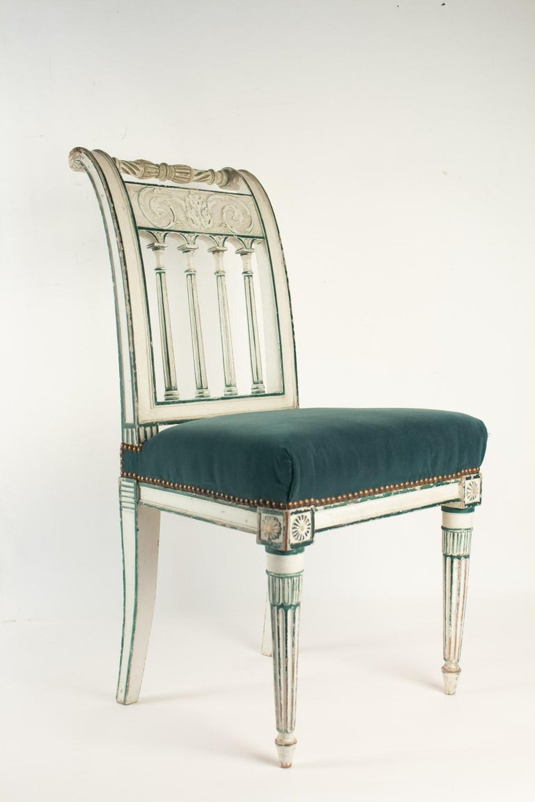 Series of 6 Chairs Directoire Period, 19th Century In Good Condition For Sale In Saint-Ouen, FR