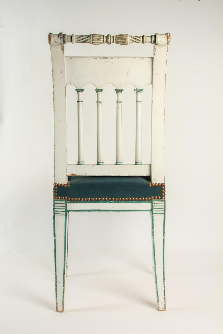 Series of 6 Chairs Directoire Period, 19th Century For Sale 1