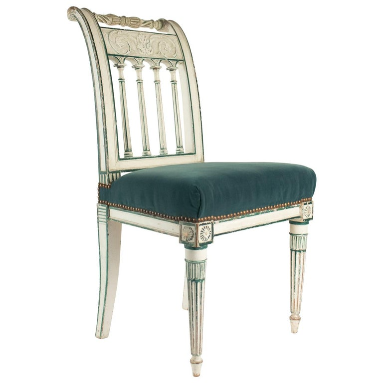 Series of 6 Chairs Directoire Period, 19th Century For Sale
