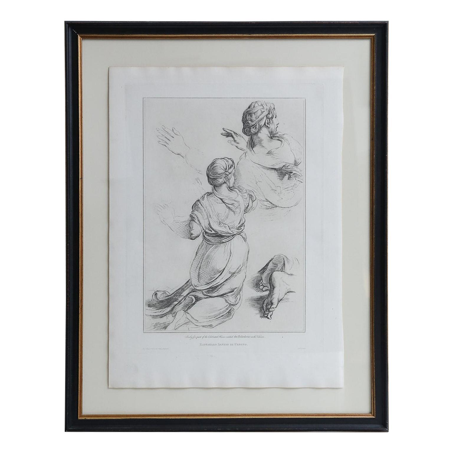 Series of Framed 19th Century Italian Engravings