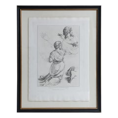 Series of Framed 19th Century Italian Engravings