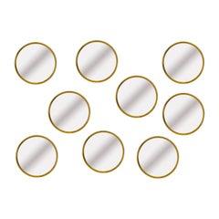 Brass Wall Mirrors