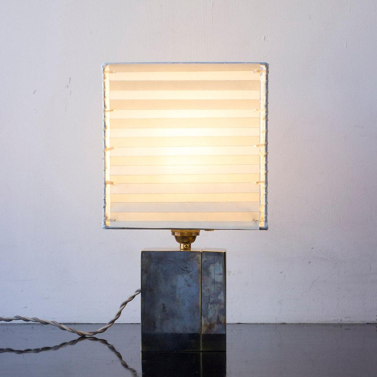 Blackened Series 03 Table Lamp,