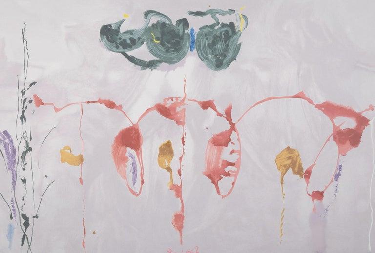 American Serigraph by Helen Frankenthaler Titled