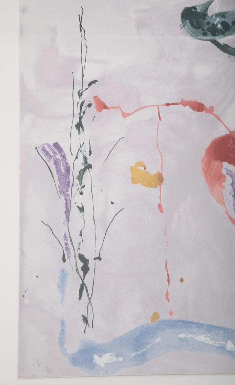 Contemporary Serigraph by Helen Frankenthaler Titled