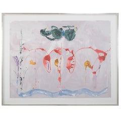 """Serigraph by Helen Frankenthaler Titled """"Aerie"""", 2009"""