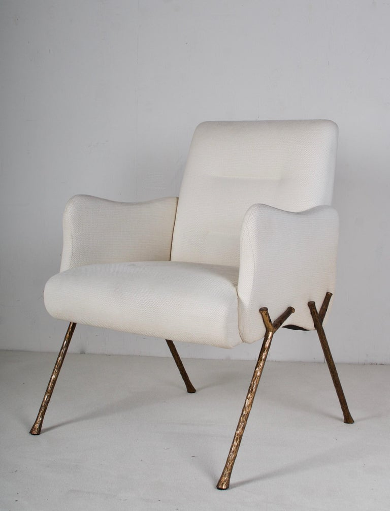 Serpentine Armchair by Therien Studio For Sale 5