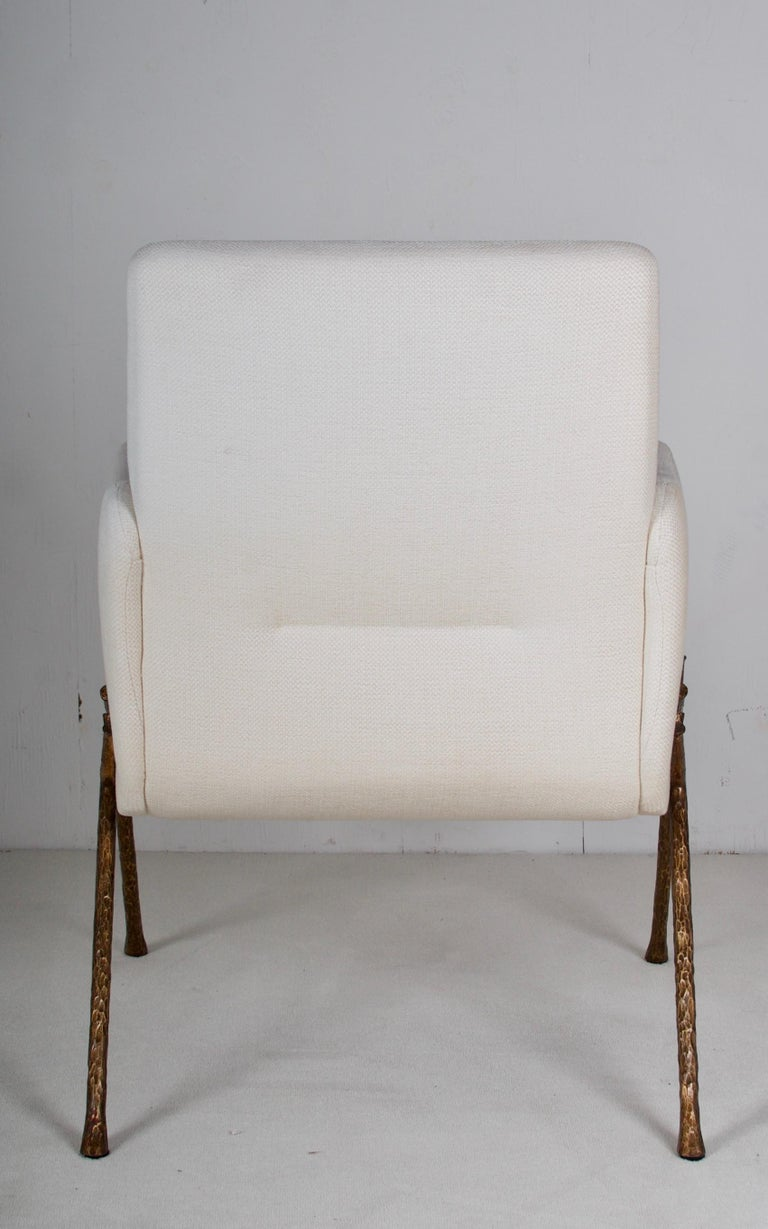American Serpentine Armchair by Therien Studio For Sale