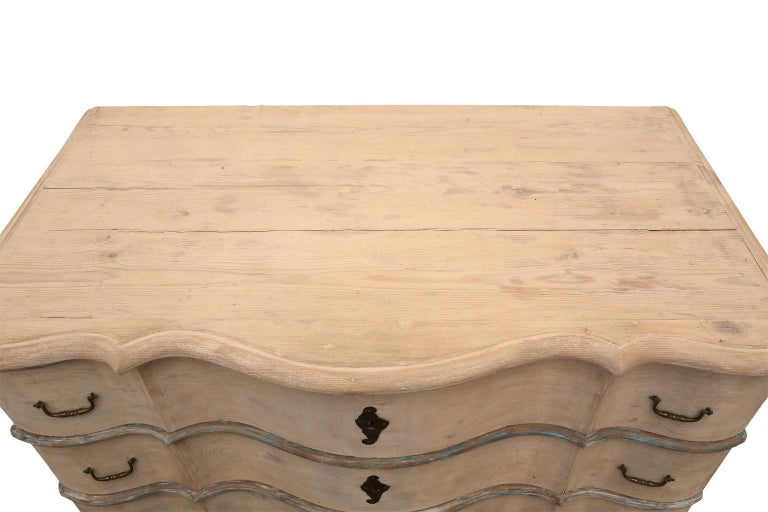 French Serpentine Front Chest For Sale