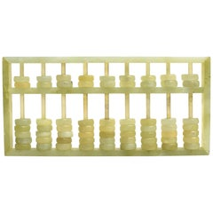 Serpentine Gemstone Abacus