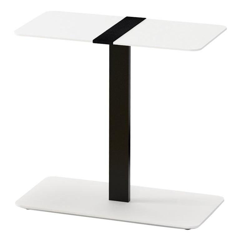 Viccarbe Serra Table, White Finish by Víctor Carrasco