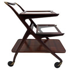 Serving Bar Cart by Cesare Lacca