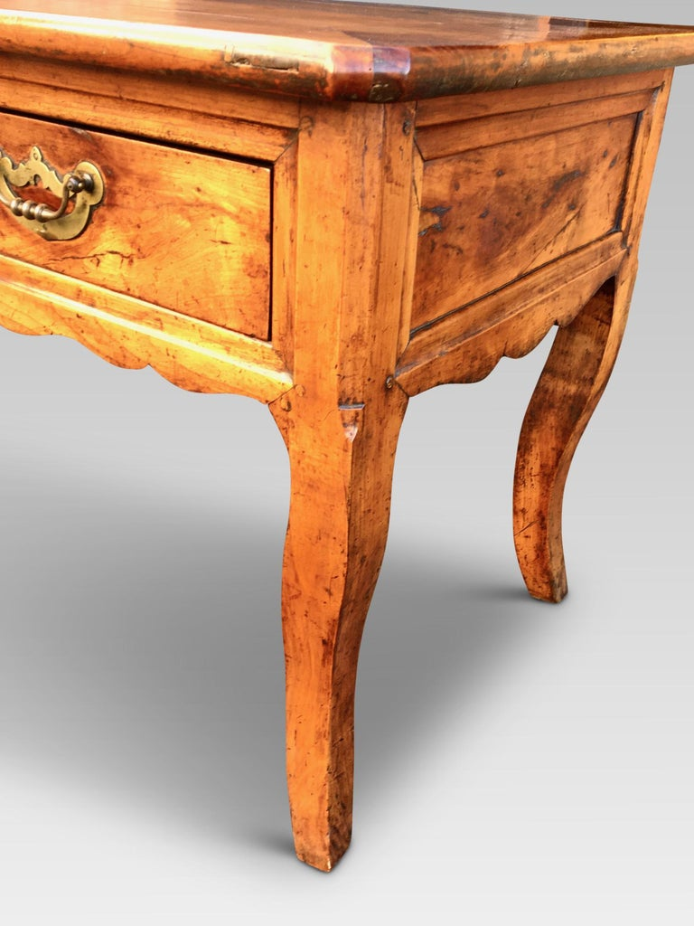 Dresser Base. Serving Table, Cherrywood, French, circa 1800 For Sale 3