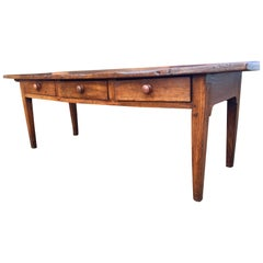Dresser Base in Chestnut.  / Serving Table circa 1790