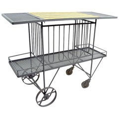 Serving Trolley Bar Cart  by Tempestini for Salterini