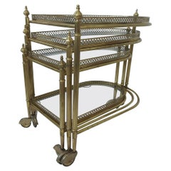 Serving Trolley Nesting Table