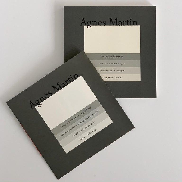 Set 10 Framed Lithographs by Agnes Martin For Sale 6