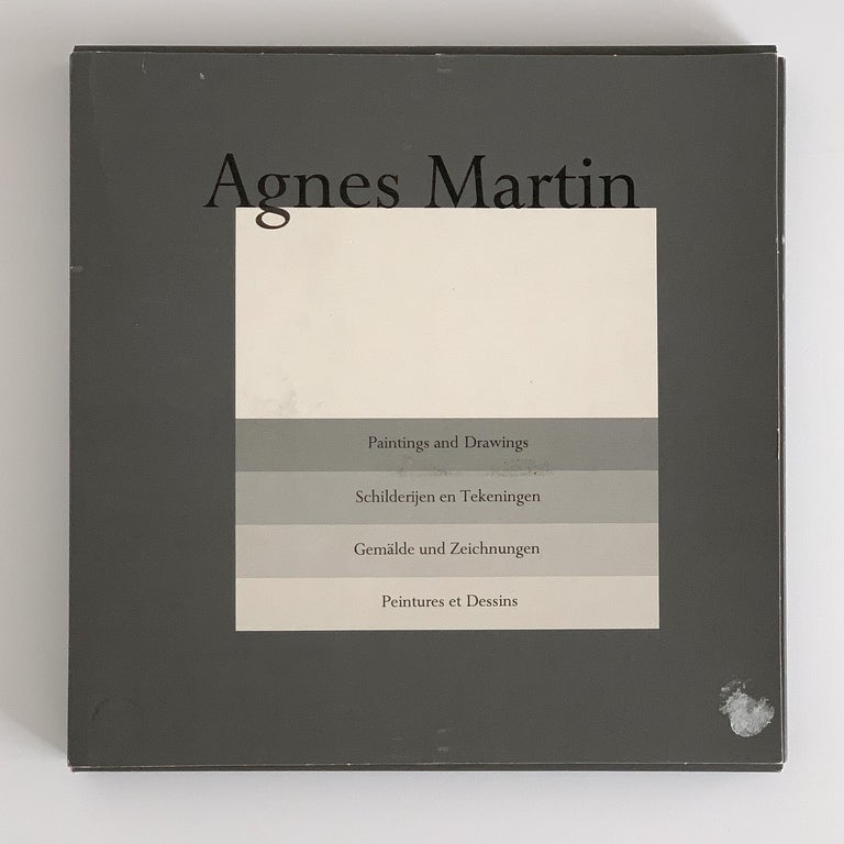 Set 10 Framed Lithographs by Agnes Martin For Sale 7
