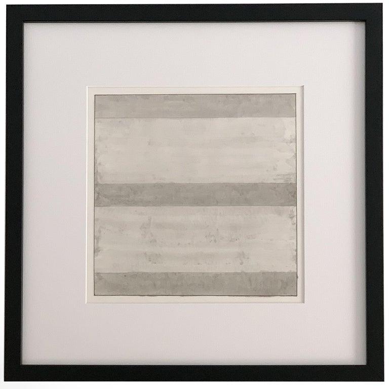 Set 10 Framed Lithographs by Agnes Martin For Sale 2