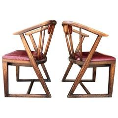 "Set of 12 ""Horseshoe"" Back Armchairs, Jamestown Lounge Co. by Jack Van der Molen"